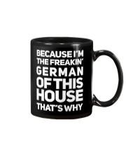GERMAN OF THIS HOUSE Mug front