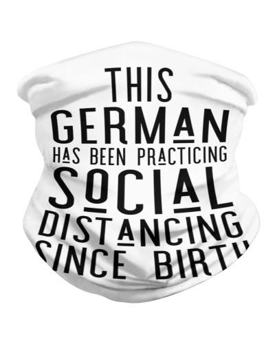 THIS GERMAN HAS BEEN PRACTICING SOCIAL