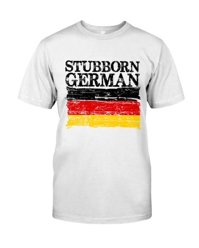 STUBBORN GERMAN