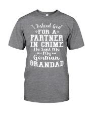 GERMAN GRANDAD FUNNY PARTNER IN CRIME Classic T-Shirt thumbnail