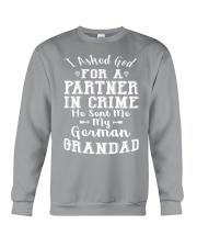 GERMAN GRANDAD FUNNY PARTNER IN CRIME Crewneck Sweatshirt thumbnail