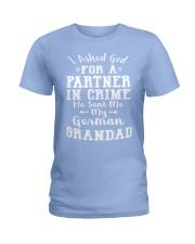 GERMAN GRANDAD FUNNY PARTNER IN CRIME Ladies T-Shirt thumbnail