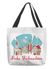 GERMAN MERRY CHRISTMAS All-over Tote thumbnail