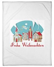 "GERMAN MERRY CHRISTMAS Small Fleece Blanket - 30"" x 40"" thumbnail"