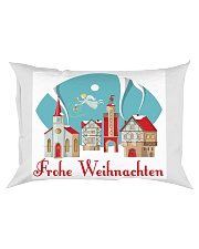GERMAN MERRY CHRISTMAS Rectangular Pillowcase thumbnail