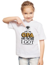 AIN'T NO OPA LIKE THE ONE I GOT Youth T-Shirt lifestyle-youth-tshirt-front-2