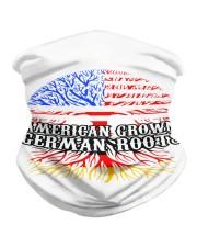 AMERICAN GROWN GERMAN ROOTS Neck Gaiter front