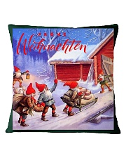 GERMAN MERRY CHRISTMAS  Square Pillowcase front