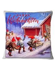 GERMAN MERRY CHRISTMAS  Square Pillowcase tile