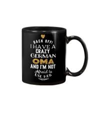 BACK OFF I HAVE A CRAZY GERMAN OMA Mug thumbnail