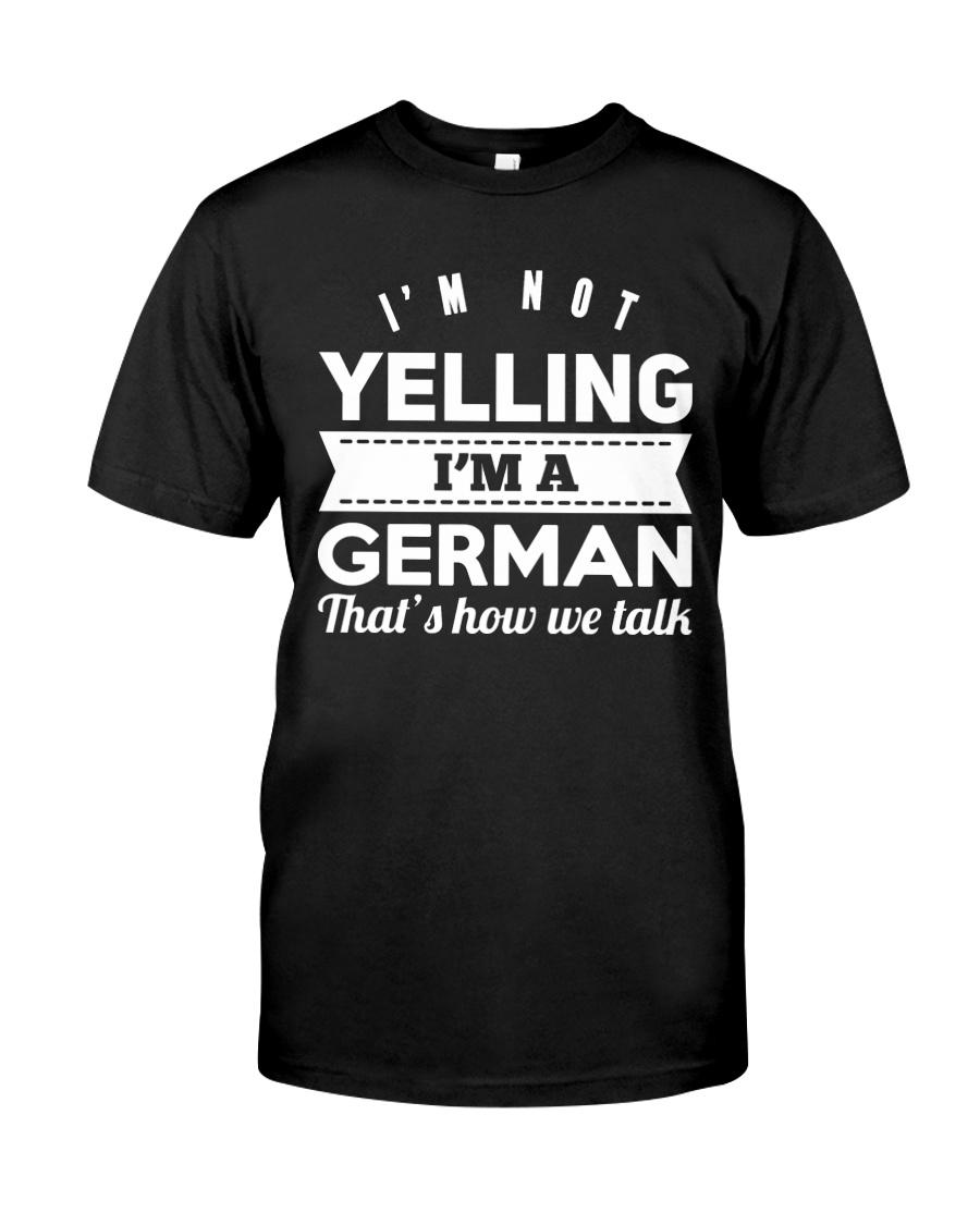 GERMAN YELLING FUNNY Classic T-Shirt
