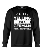 GERMAN YELLING FUNNY Crewneck Sweatshirt thumbnail