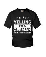GERMAN YELLING FUNNY Youth T-Shirt tile