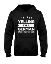 GERMAN YELLING FUNNY Hooded Sweatshirt thumbnail
