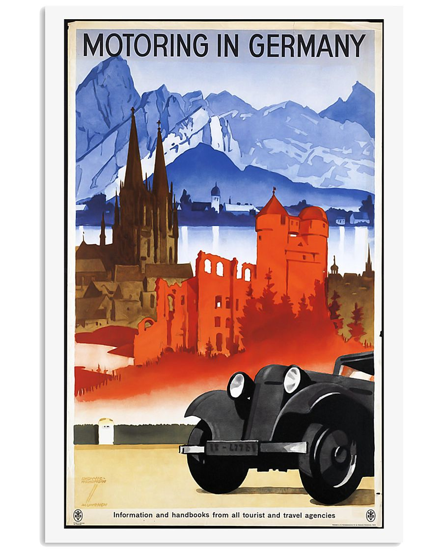 GERMAN VINTAGE POSTER 11x17 Poster