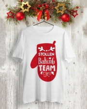 STOLLEN BAKING TEAM Classic T-Shirt lifestyle-holiday-crewneck-front-2