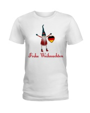 GERMAN CHRISTMAS ELF Ladies T-Shirt thumbnail