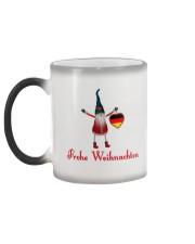 GERMAN CHRISTMAS ELF Color Changing Mug color-changing-left