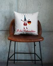 GERMAN CHRISTMAS ELF Square Pillowcase aos-pillow-square-front-lifestyle-04