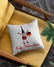 GERMAN CHRISTMAS ELF Square Pillowcase aos-pillow-square-front-lifestyle-07