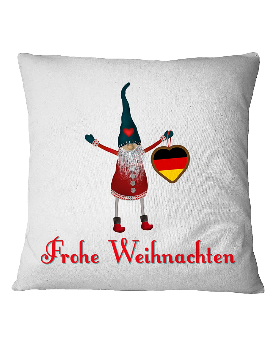 GERMAN CHRISTMAS ELF Square Pillowcase