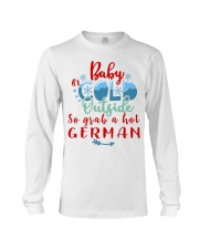BABY IT'S COLD OUTSIDE SO GRAB GERMAN Long Sleeve Tee thumbnail
