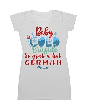 BABY IT'S COLD OUTSIDE SO GRAB GERMAN All-over Dress thumbnail