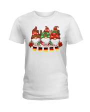 GERMAN CHRISTMAS  ELFS Ladies T-Shirt thumbnail