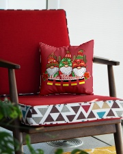 GERMAN CHRISTMAS  ELFS Square Pillowcase aos-pillow-square-front-lifestyle-09