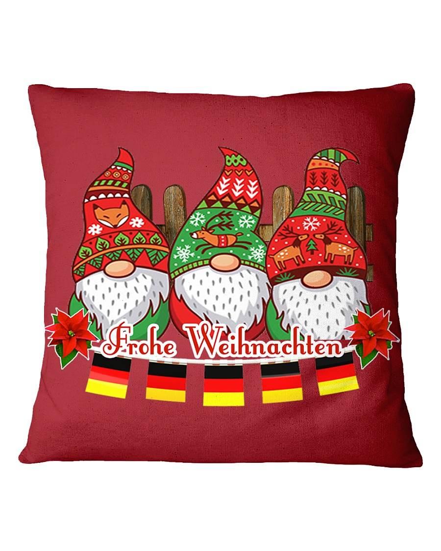 GERMAN CHRISTMAS  ELFS Square Pillowcase