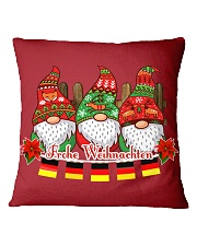 GERMAN CHRISTMAS  ELFS Square Pillowcase front