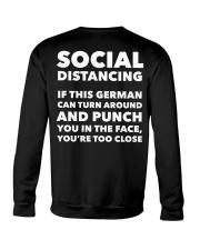 SOCIAL DISTANCING IF THIS GERMAN CAN TURN AROUND Crewneck Sweatshirt thumbnail