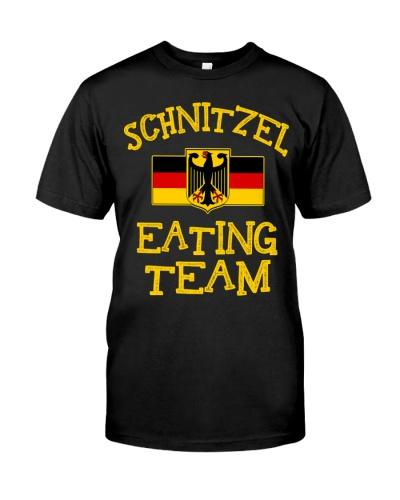 SCHNITZEL EATING TEAM