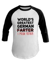 WORLD'S GREATEST GERMAN FATHER Baseball Tee thumbnail