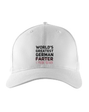WORLD'S GREATEST GERMAN FATHER Embroidered Hat thumbnail