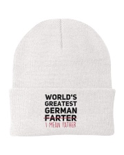 WORLD'S GREATEST GERMAN FATHER Knit Beanie thumbnail