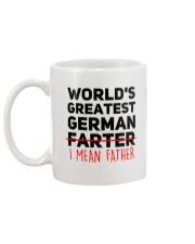 WORLD'S GREATEST GERMAN FATHER Mug back