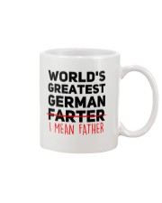 WORLD'S GREATEST GERMAN FATHER Mug front