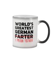 WORLD'S GREATEST GERMAN FATHER Color Changing Mug thumbnail