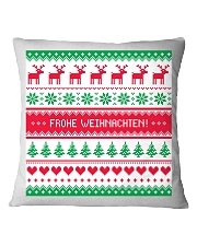 GERMAN MERRY CHRISTMAS  Square Pillowcase tile