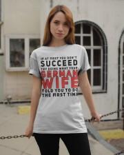 GERMAN WIFE Classic T-Shirt apparel-classic-tshirt-lifestyle-19