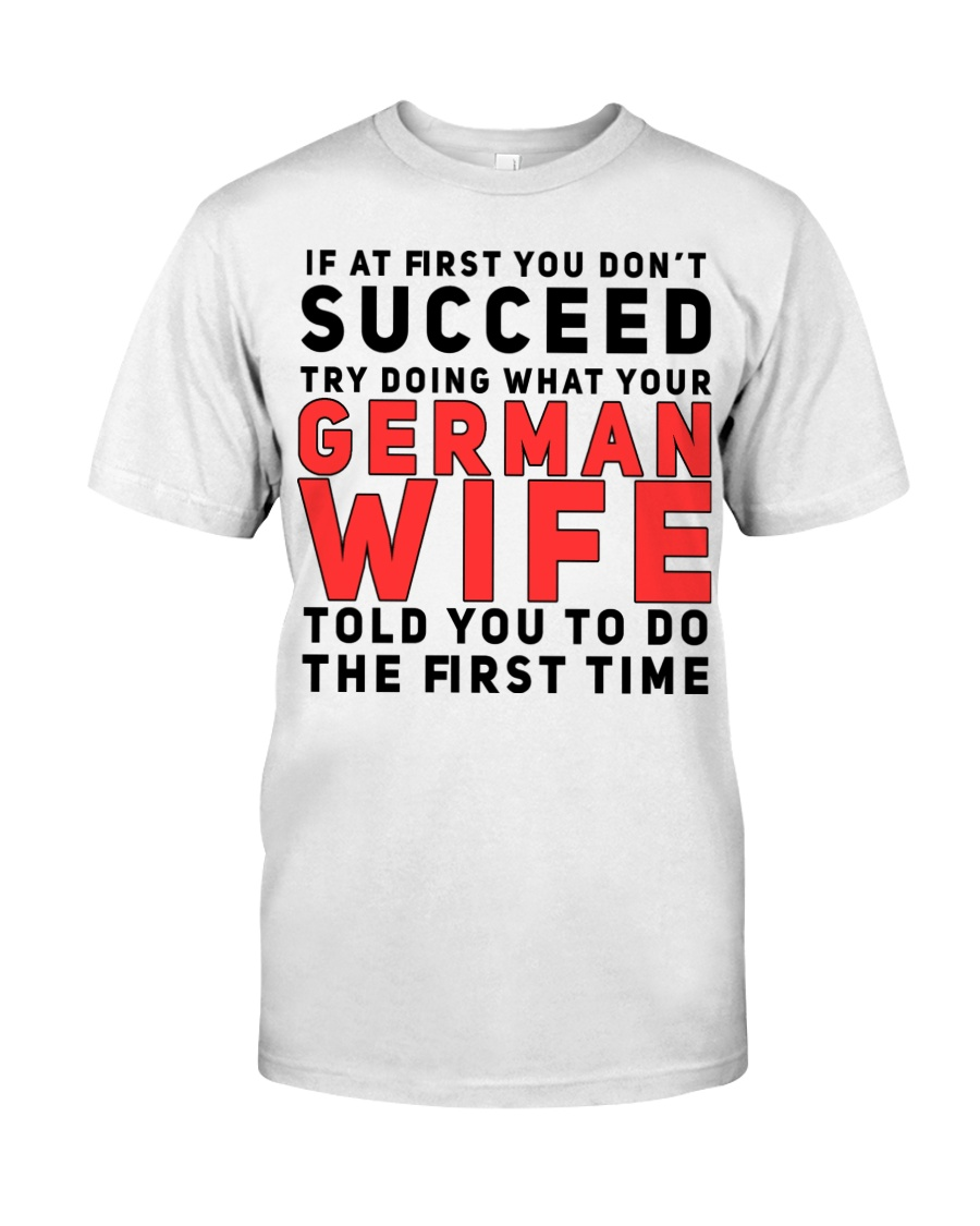 GERMAN WIFE Classic T-Shirt