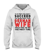 GERMAN WIFE Hooded Sweatshirt thumbnail