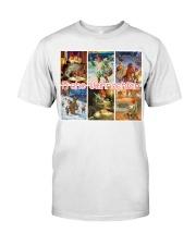 GERMAN MERRY CHRISTMAS Classic T-Shirt thumbnail