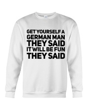 GET YOURSELF GERMAN MAN FUNNY Crewneck Sweatshirt thumbnail