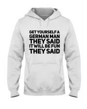 GET YOURSELF GERMAN MAN FUNNY Hooded Sweatshirt thumbnail