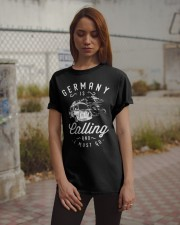 GERMANY IS CALLING Classic T-Shirt apparel-classic-tshirt-lifestyle-18