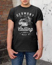 GERMANY IS CALLING Classic T-Shirt apparel-classic-tshirt-lifestyle-31