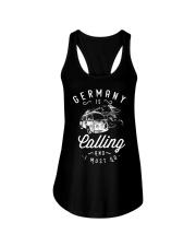 GERMANY IS CALLING Ladies Flowy Tank thumbnail