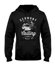 GERMANY IS CALLING Hooded Sweatshirt thumbnail